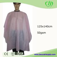Wholesale Polyester Printed Shampoo Capes Styling Capes for Salon/Shampoo Capes/Hair Cutting Capes from china suppliers