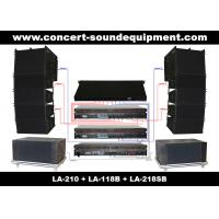 "Quality 480W Concert Sound Equipment , Full Range Line Array Speaker With1.4""+2x10"" Neodymium Drivers for sale"