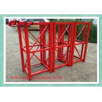 Quality High Efficiency Rack And Pinion Buck Hoist Elevator 2T Capacity 0-63m/Min Mid Speed for sale