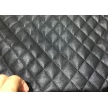 Pleather Biker Zip Through Placket Ladies PU Jacket , Black PU Coat For Winter for sale