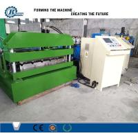 Wholesale Hydraulic Steel Corrugated Roofing Sheet Crimping Machine , Metal Roofing Roll Forming Machine from china suppliers