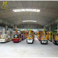Wholesale Hansel hot selling Outdoor Trains Rides Kiddie Train Rides For Sale, Kiddie Trian Electric Indoor rides factory from china suppliers