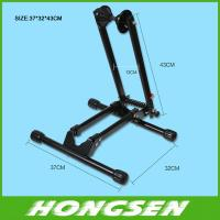 Buy cheap HS-026A Floor steel bike display stand rack for folding bicycle parts from wholesalers