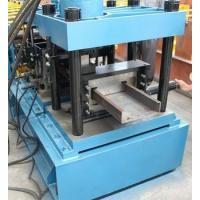 Wholesale High Speed 11KW CZ Purlin Roll Forming Machine , Gi Coil or Carbon Steel Roll Form Machine from china suppliers