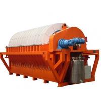 Wholesale High efficient ceramic disc vacuum filter for mineral slurry dewatering from china suppliers