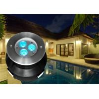 Wholesale 118MM Diameter LED Swimming Pool Light With RGB Color Changing Led Pool Light from china suppliers