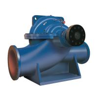 Split Casing Industrial Centrifugal Pumps Double Suction Impeller Horizontal Engine