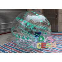 Wholesale Green Dot Inflatable Sumo Soccer Balls / Bubble Football / Water Zorb Ball With Color from china suppliers