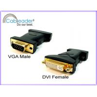 Wholesale High Performance DVI-I 24+5 Female to VGA 15 pin Male from china suppliers