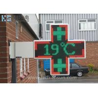 Wholesale Aluminum Cabinet Led Sign Board , LED Pharmacy Cross Sign OEM / ODM Available from china suppliers