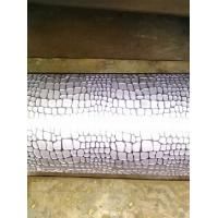 Buy cheap Flower Pattern PU / PVC / Synthetic Leather Knurled Rollers , Engraving Rolls from wholesalers