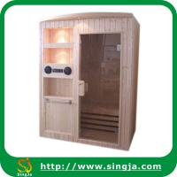 Wholesale Custom Finland Wood Sauna Room with Arched Edge(SR-C9) from china suppliers