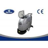 Wholesale Single Brush Walk Behind Floor Sweeper Scrubber , Factory Cleaning Equipment from china suppliers