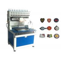 Wholesale 12 Colors Silicon / PVC Label Plastic Injection Molding Machine For Key Caps / Phone Holders from china suppliers