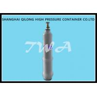 Quality Empty Medical Steel Gas Cylinder / Oxygen Tank Portable for sale