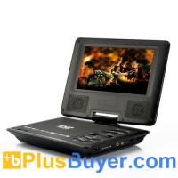Wholesale 7 Inch Swivel Screen Portable DVD Player (Region Free, 480x234) from china suppliers