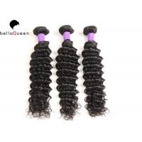 Wholesale Deep Wave Unprocessed Brazilian Human Hair Weft Full End Without Split from china suppliers