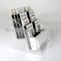 Wholesale Acrylic Cosmetic Organizers 2 - Layer Eyelash Display Rack For Cosmetic Store from china suppliers