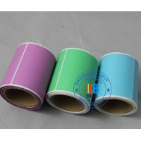 Wholesale Rectangle round shape colorful adhesive barcode paper sticker roll for shipping articles label from china suppliers
