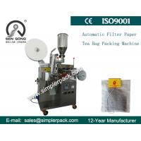 Wholesale Cheap Simple Filter Paper Tea Bag Packing Machine with Line and Tag International Approval from china suppliers