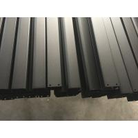Wholesale Black Anodized Powder Coating aluminum frame extrusions for Roof Rack from china suppliers