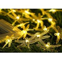 Wholesale Outdoor Decorative Dragonfly Solar String Lights With Motion Sensor Copper Cable from china suppliers