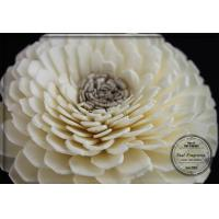 Wholesale Decorative Customized 7cm White Artificial Flowers For Fragrance Diffuser from china suppliers