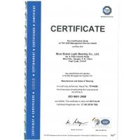 Wuxi tiby mechanical &electrical Imp.&exp.co.,ltd Certifications