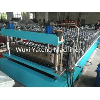 Wholesale Fully Automatic Galvanized Steel Corrugated Roll Forming Machine 8 - 15m / Min Working Speed from china suppliers