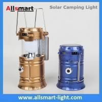 Wholesale Solar USB Port Recharger Tent Lamp With Desk Reading Lamp Table Lantern  LED Camping Light Tensile Lantern Flashlight from china suppliers