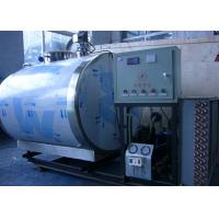 Wholesale Custom Sanitary Milk Cooling Tank For Dairy Line / Tanks System , 10000L from china suppliers