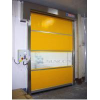 Wholesale High Speed Shoulder Protection PVC Roll Up Door / Rolling Steel Doors ISO Approved from china suppliers
