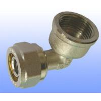 Wholesale compression brass fitting female elbow for PEX-AL-PEX from china suppliers