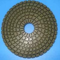 Wholesale Wet granite polishing pad spirial shape from china suppliers