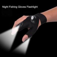 Wholesale Gloves with LED Light Hunting Outdoor Fingerless Fishing Camping Hiking Survival from china suppliers