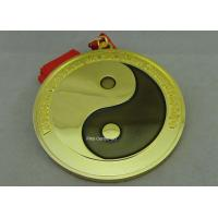 Wholesale Customized Karate Medals , Judo Taekwondo Jiu - jitsu Medals , Zinc Alloy Martial Arts Medals. from china suppliers
