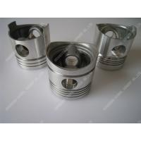 Wholesale Piston Single Cylinder Diesel Engine Parts Aluminum Piston Black / Silver Color from china suppliers