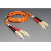 Buy cheap Singlemode Duplex G657A1 LSZH Fiber optic patch cord , fiber optic jumper SC / UPC - FC / UPC from wholesalers