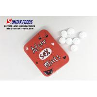 Wholesale After Sex Mints / health Sugar Free Low Calorie Candy in Hingle Tin Can from china suppliers
