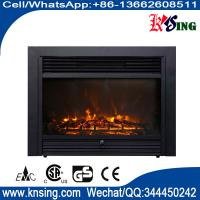 """Wholesale 26"""" insert electric fireplace heater log LED flame effect EF-30D remote control built-in flat front electric stove from china suppliers"""