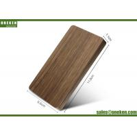 Wholesale 4000mAh Solid Walnut Wooden Portable Charger 110g With Polymer Battery Cell from china suppliers