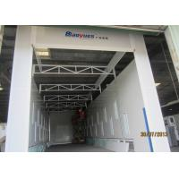 Wholesale Electric Damper Side Downdraft Spray Booth , Industrial Paint Booth Equipment from china suppliers