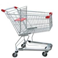 Wholesale Unfolding Grocery Store Shopping Carts Four Swivel Wheels Zinc Plated from china suppliers