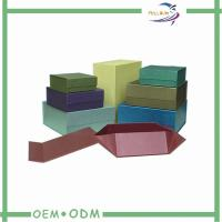 Wholesale Flat Magnetic Gift Boxes Packaging Colorful Art paper  Boxes from china suppliers