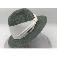 Wholesale Women's  Sun Hat - Fedora-Style Sun Hat from china suppliers