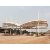 Quality Security Space Frame Steel Structure Truss Purlin of Toll Station for sale