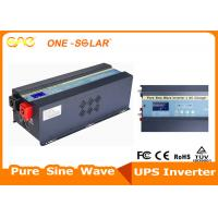Quality 3KW 6KW 24 / 48V Stable Off Grid Solar Inverter Pure Sine Wave With Charger for sale