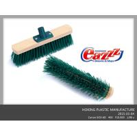 Wholesale Garden Broom Green PP Screw Wooden Block Durable Push Broom 30cm from china suppliers