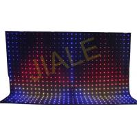 Wholesale 4x6m Rgb 3in1 Led Video Curtain Backdrop Decoration / Stage Fixture from china suppliers