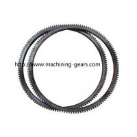 Quality Steel Forged Fly Wheel Ring Gear / Forklift Parts Tooth Large Ring Gear for sale